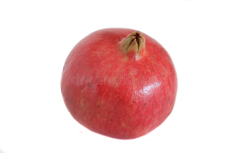Download Whole Pomegrante stock image. Image of juicy, eastern - 1449259