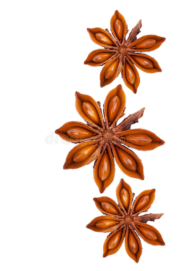 Download Whole Star Anise stock image. Image of star, aroma, food - 27223195