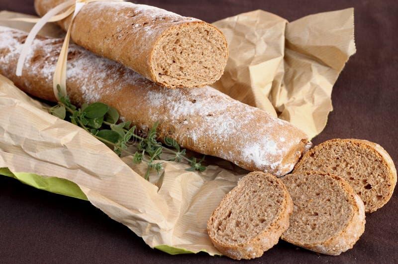Whole wheat bread. Delcious homemade whole wheat bread stock image