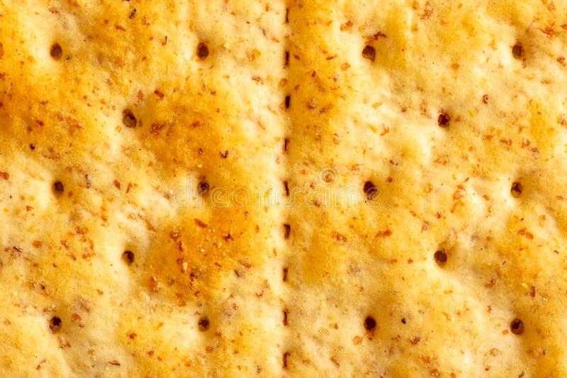 Whole Wheat Cracker Texture royalty free stock photos