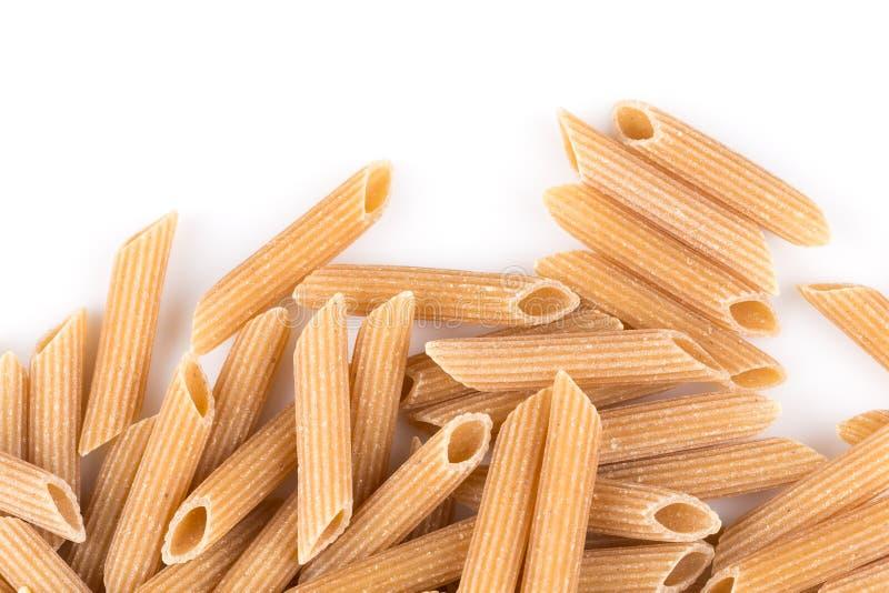 Wholegrain Penne Pasta royalty-vrije stock foto