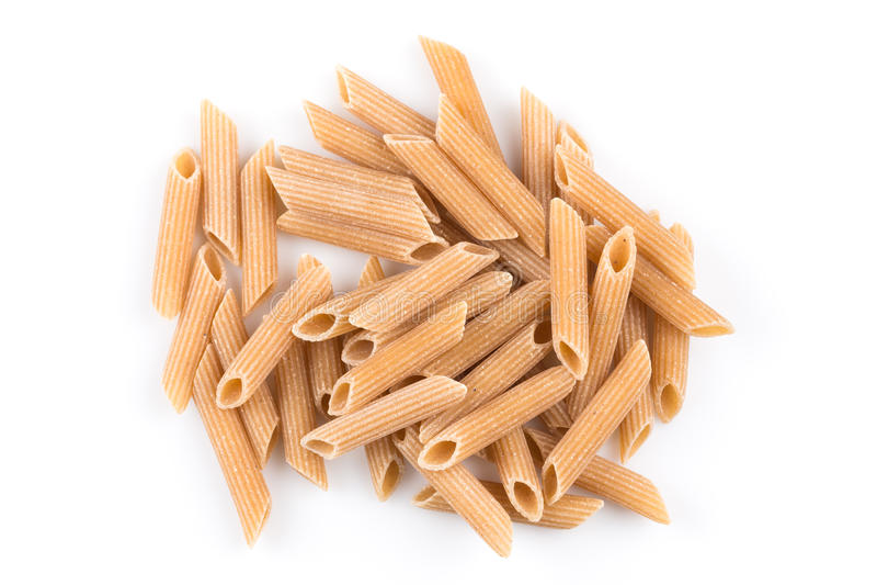 Wholegrain Penne Pasta stock foto