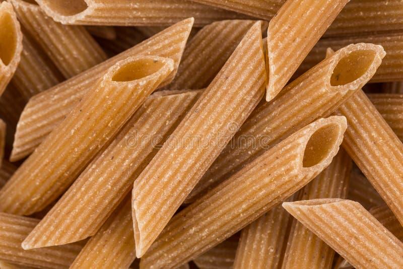 Wholegrain Penne Pasta royalty-vrije stock foto's
