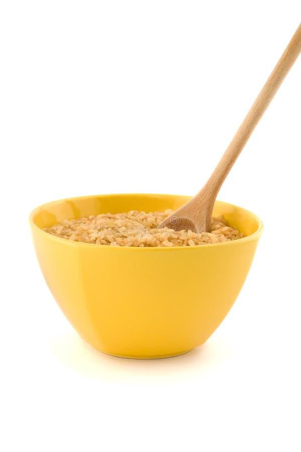 Wholegrain rice royalty free stock image
