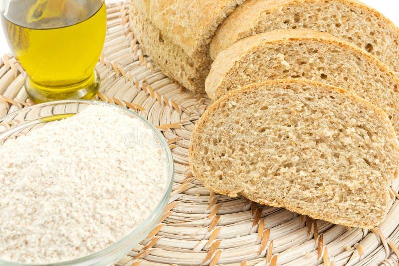 Wholemeal chleb zdjęcia stock