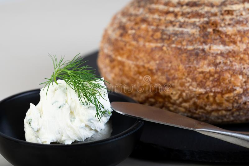 Fresh backed bread stock photos
