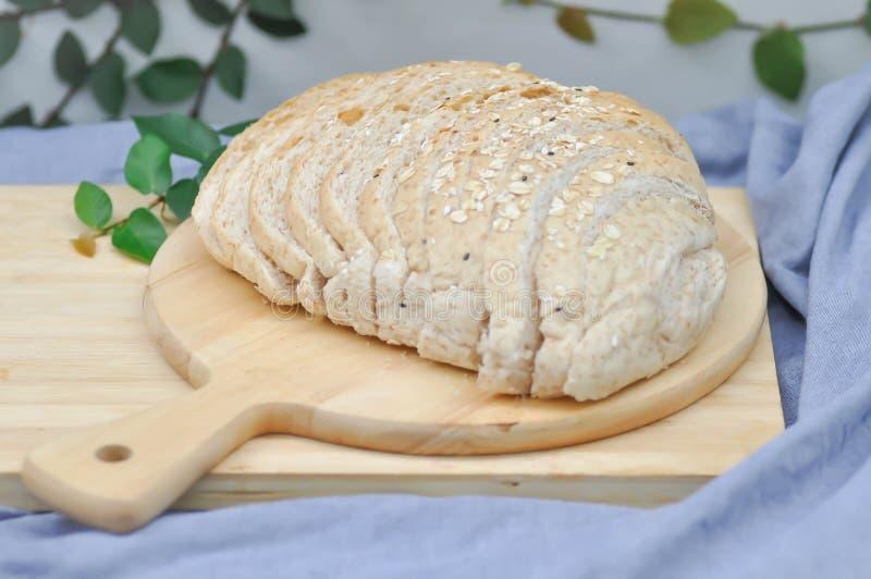 Wholewheat chleb obrazy royalty free
