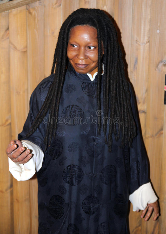 whoopi tussaud madame s goldberg стоковое фото rf