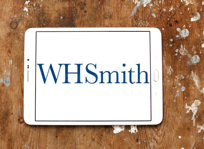 WHSmith företagslogo royaltyfri bild