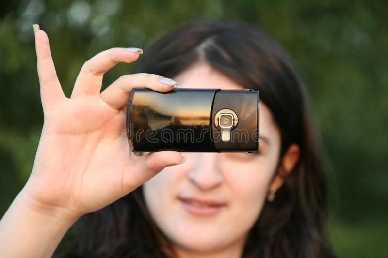 Why don't you take a picture? stock image