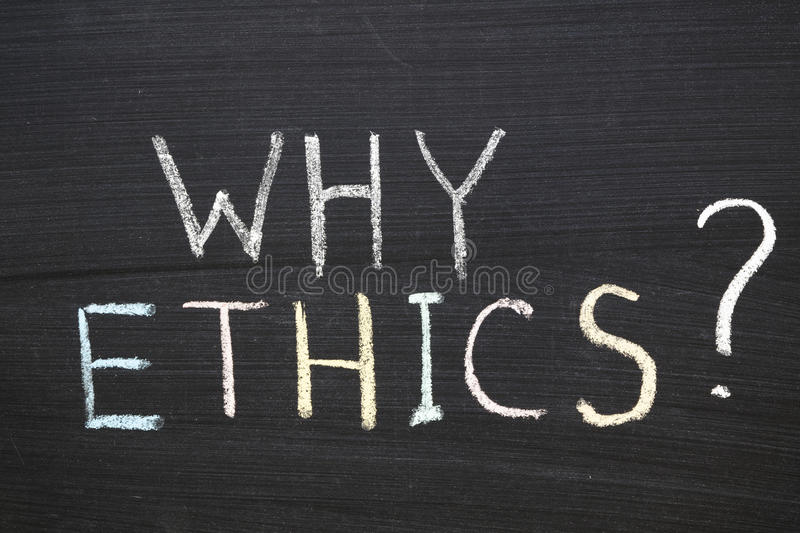 Why Ethics Stock Photography