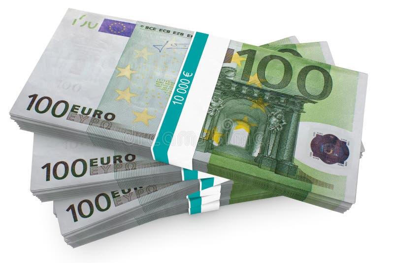 wiąże euro sto ilustracja wektor