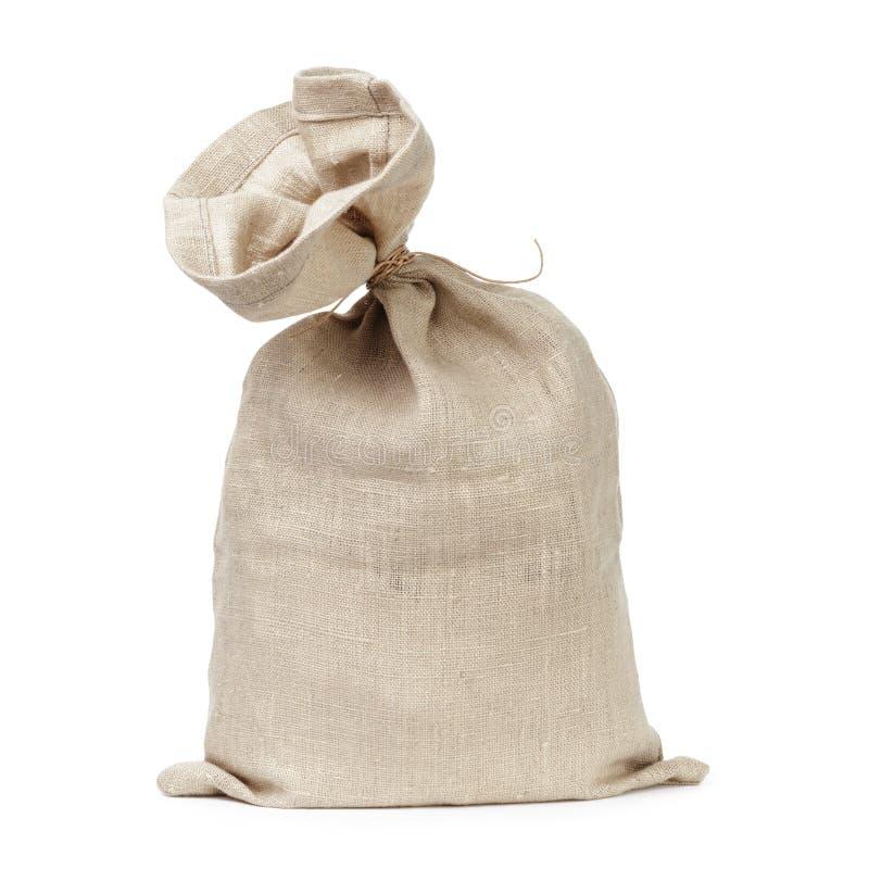 Wiązana workowa torba obrazy stock