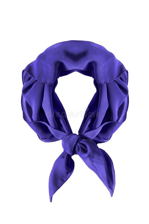 Wiązany neckerchief odizolowywający zdjęcia royalty free
