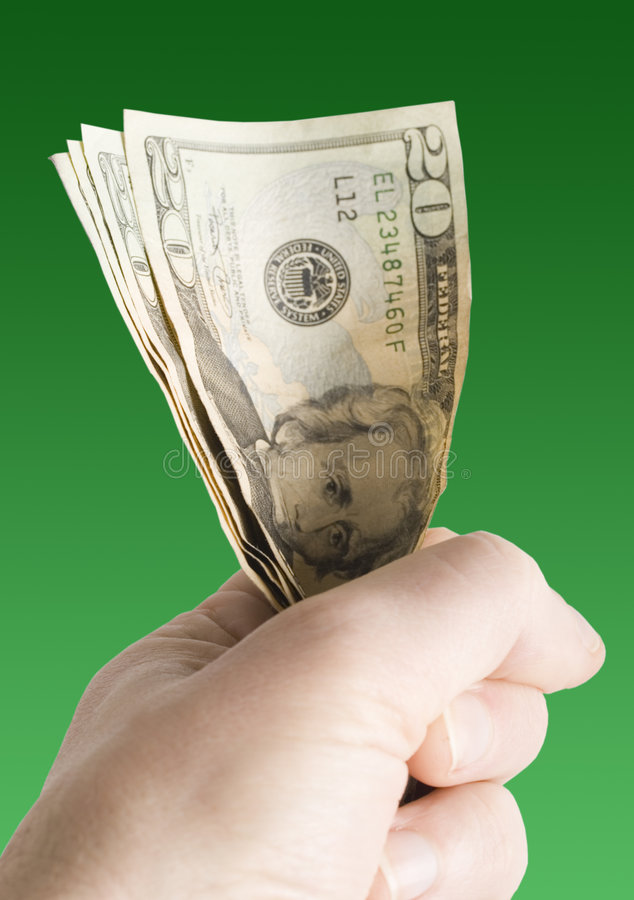wiązka dolary obraz royalty free