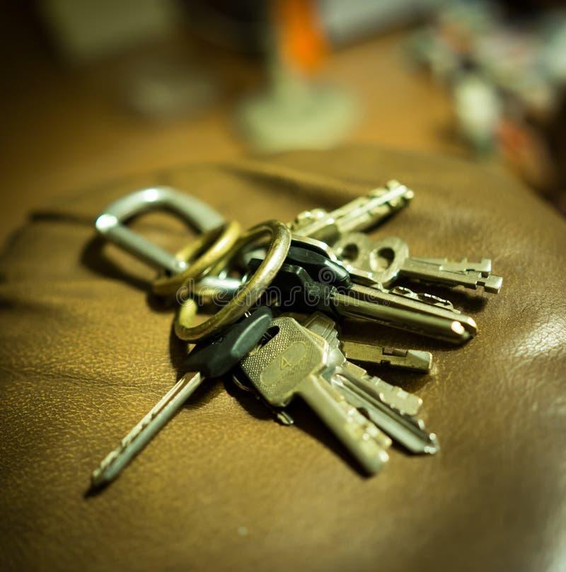 wiązka klucz zdjęcia royalty free