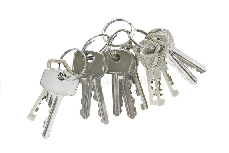 Wiązka klucze zdjęcia stock