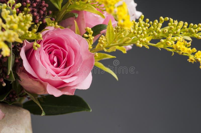 Wiązka multicolor kwiaty obraz royalty free