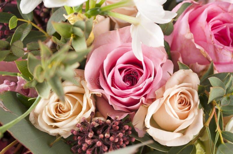 Wiązka multicolor kwiaty zdjęcie stock