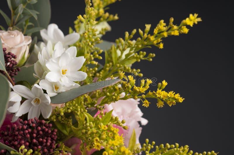 Wiązka multicolor kwiaty fotografia stock