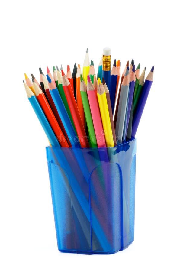 Wiązka ołówki obraz stock