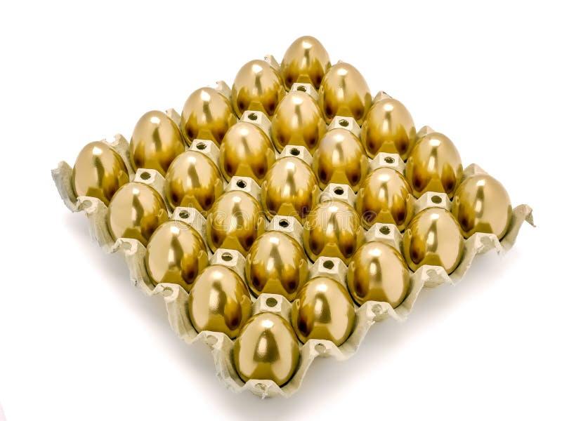 Wiązka złoci jajka obraz royalty free