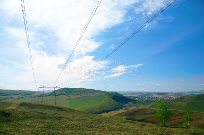 wiązki energii elektrycznej zdjęcia royalty free