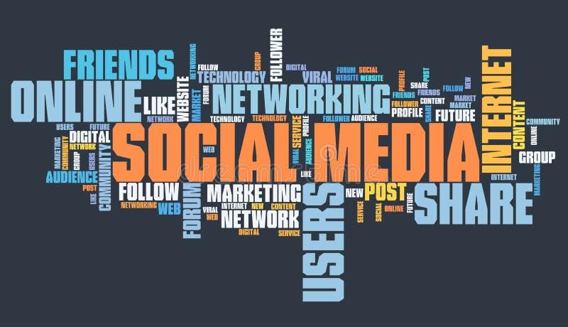 wiązki komunikacyjne pojęcia rozmowy ma środki zaludniają socjalny ilustracja wektor