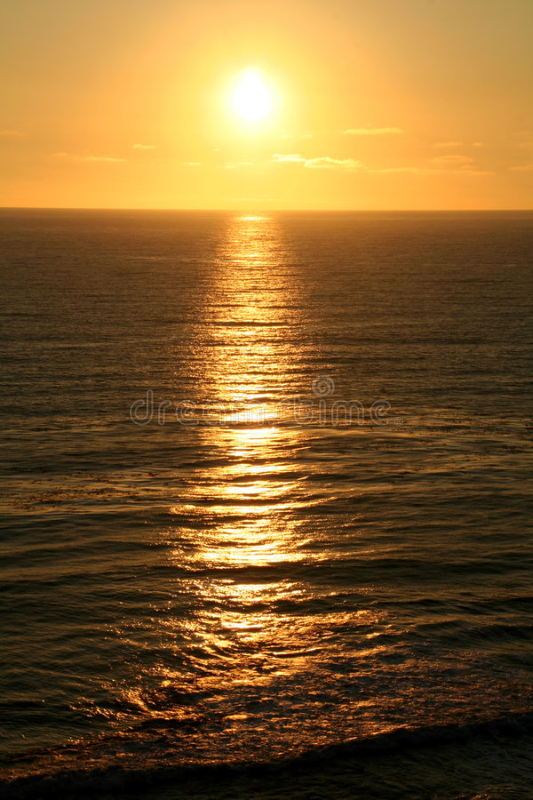 wiązki słońce zdjęcie royalty free
