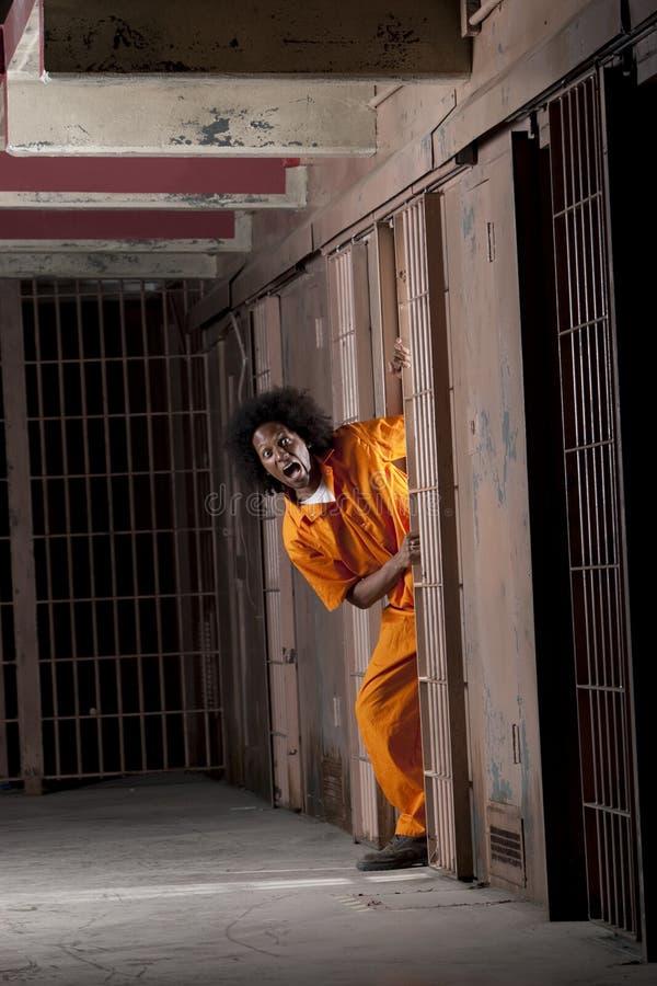 więźniarscy mężczyzna TARGET265_1_ potomstwa potomstwo zdjęcie stock