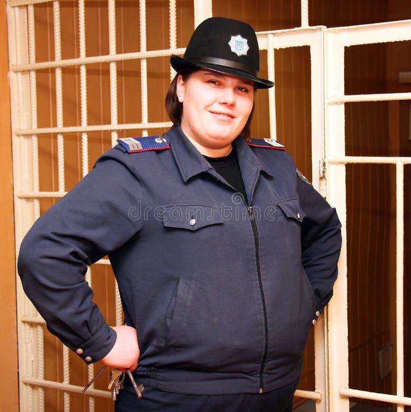 więźniarski warden obrazy royalty free