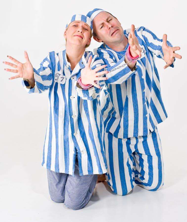 więźniowie błagania zdjęcie royalty free