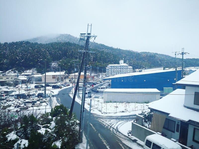 Więcej śnieg fotografia stock