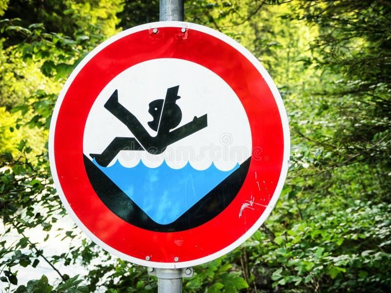 więcej mojego portfolio znak podpisuje ostrzeżenie zdjęcia royalty free