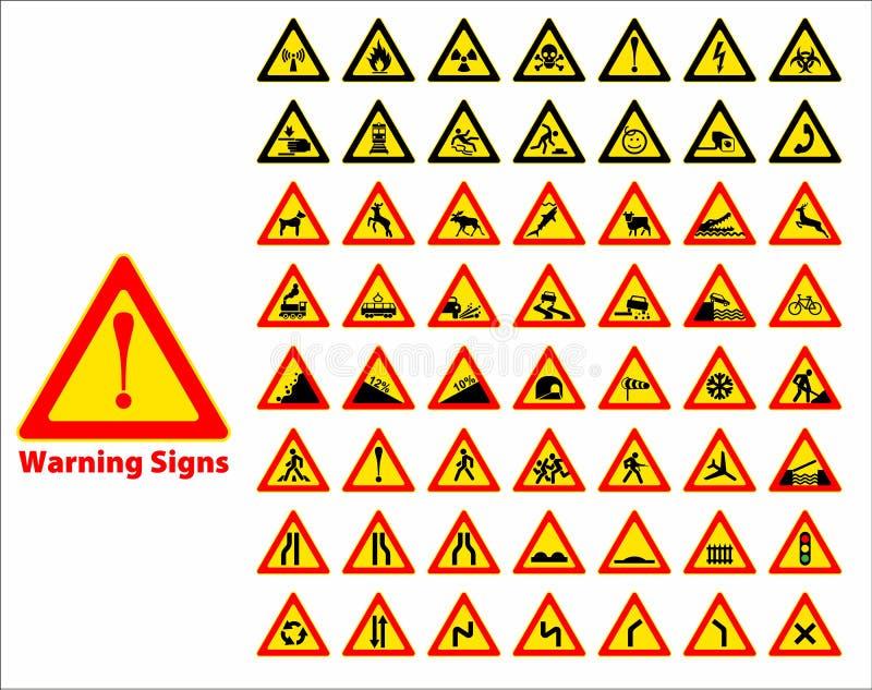 więcej mojego portfolio znak podpisuje ostrzeżenie royalty ilustracja