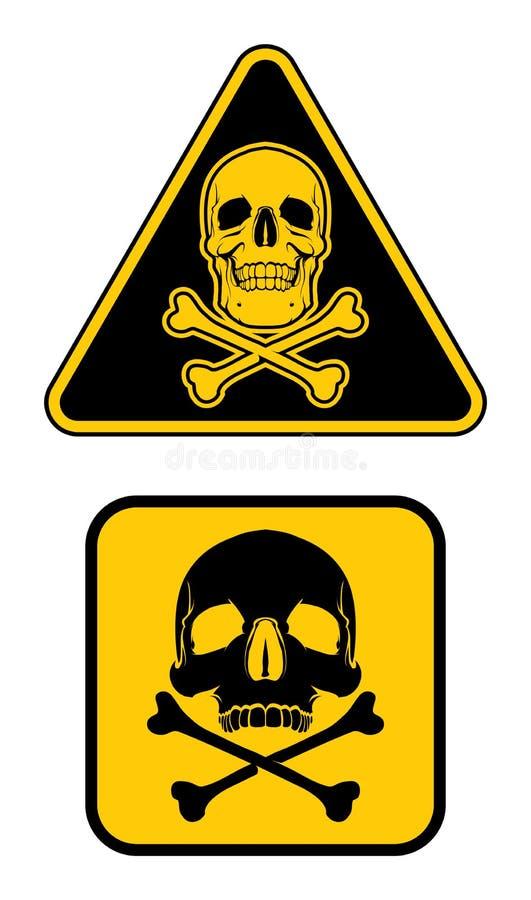 więcej mojego portfolio znak podpisuje ostrzeżenie zdjęcia stock