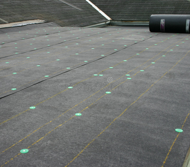 większy dach projektu obrazy stock