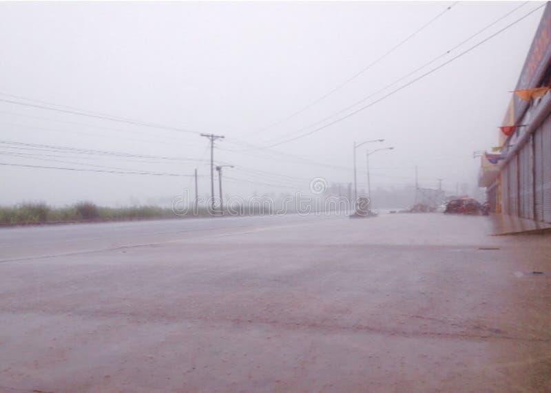 większy deszcz obrazy stock