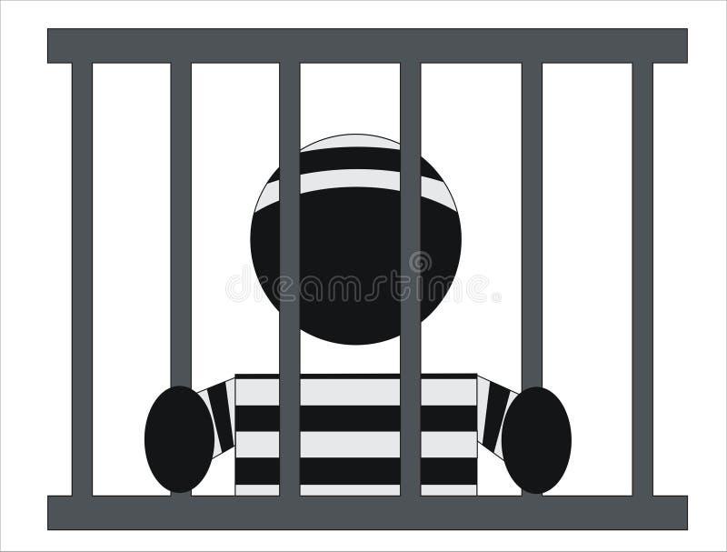 więzień ilustracji