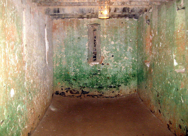 Więzienie - Goree wyspa - Senegal fotografia stock