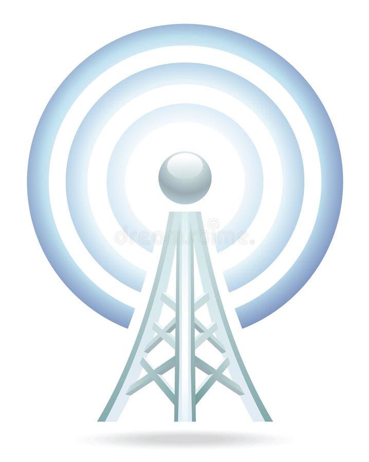 Wi-Fi塔图标 图库摄影