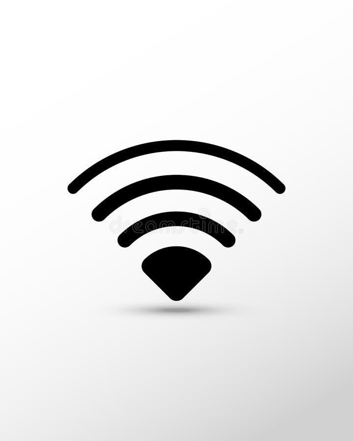 Wi-Fi点标志 免版税图库摄影