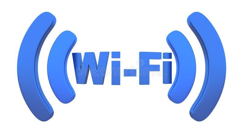 Wi-Fi stock de ilustración