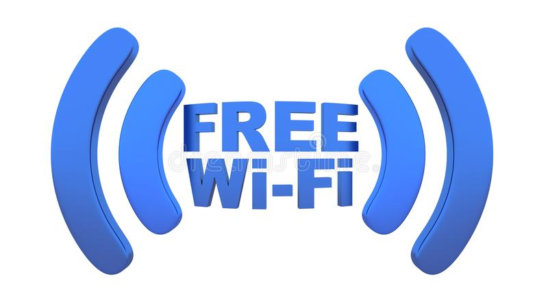 Download Wi-fi stock illustration. Image of white, icon, connection - 34749617