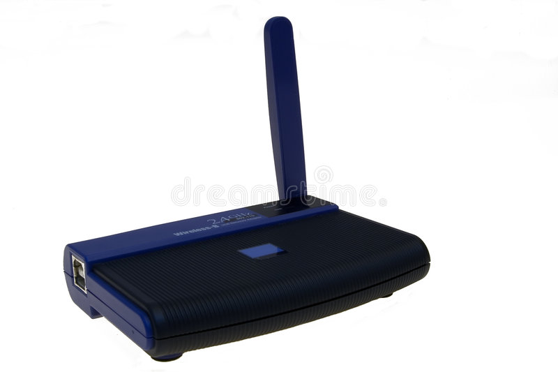 Wi-fi network card. Wi-fi external usb card stock photo