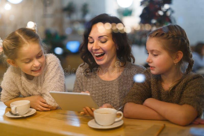 Wi-Fi no café fotografia de stock royalty free