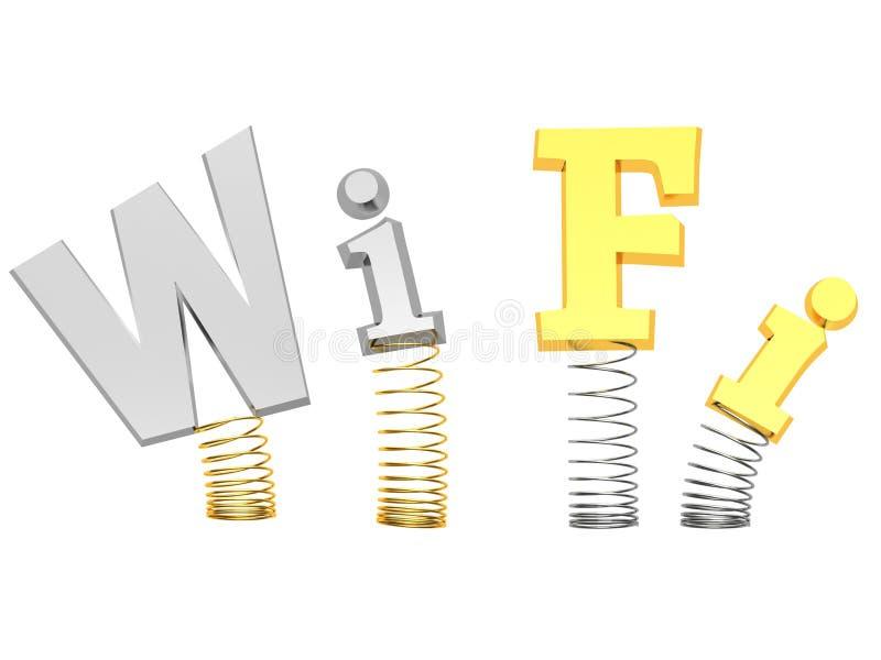 Download Wi-fi sign concept stock illustration. Illustration of communication - 37241959
