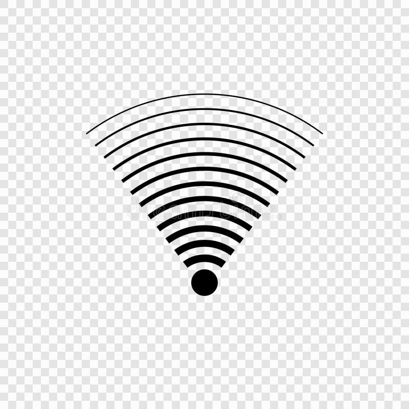 wi-fi wave icon royalty free illustration