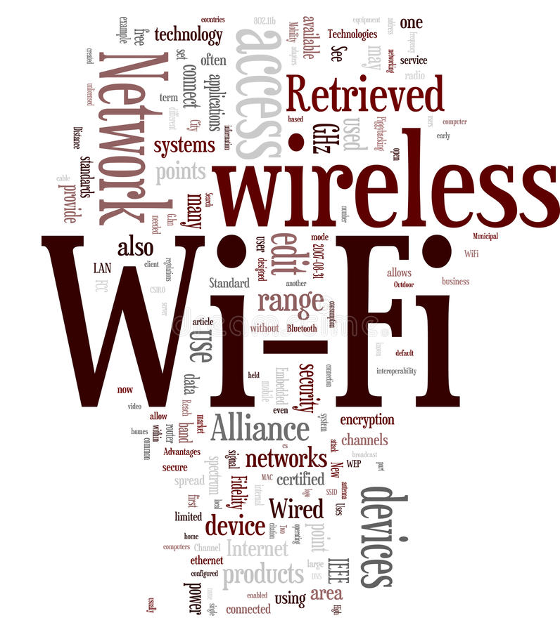 Wi-Fi / Wireless vector illustration