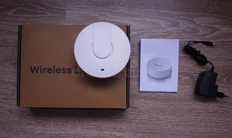 Wi-Fiadapter für Haus und Büro stockfoto